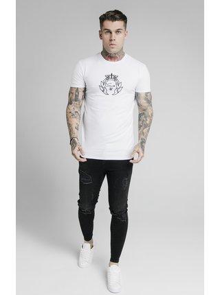 Bílé pánské tričko TEE GYM EMBROIDERY PRESTIGE S/S