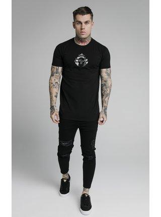Černé pánské tričko TEE TRANSFER PRESTIGE S/S