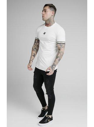 Bílé pánské tričko  TEE GYM TAPE PREMIUM S/S