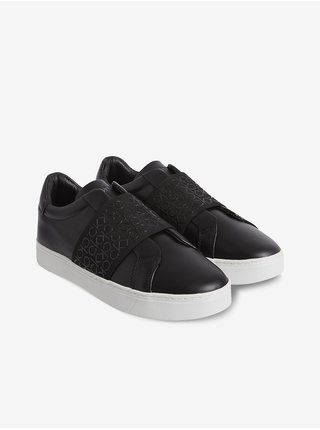 Černé dámské kožené tenisky Calvin Klein