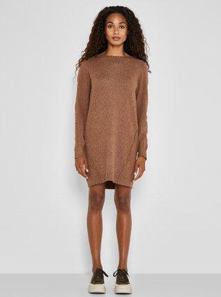 Šaty na denné nosenie pre ženy Noisy May - hnedá