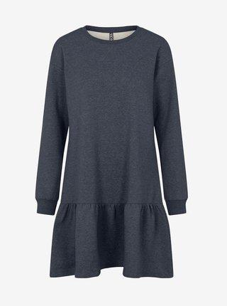 Šaty na denné nosenie pre ženy Pieces - tmavomodrá