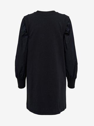 Černé mikinové šaty Jacqueline de Yong Fenja