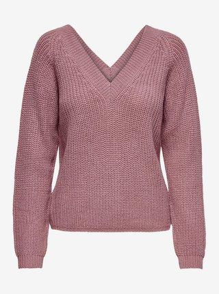 Starorůžový svetr Jacqueline de Yong Lori
