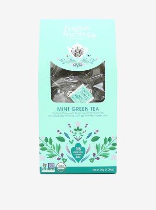 Zelený čaj s mátou English Tea Shop (15 pyramidek)