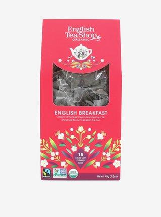 Černý čaj English Breakfast English Tea Shop (15 pyramidek)