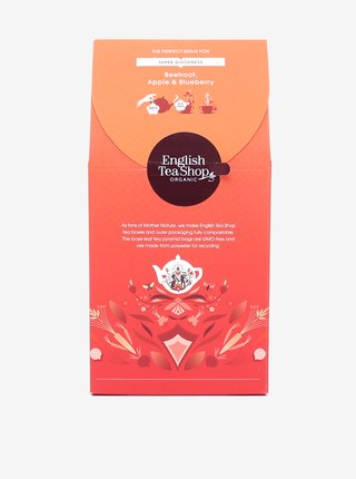 Čaj Červená řepa, jablko a borůvky English Tea Shop (15 pyramidek)