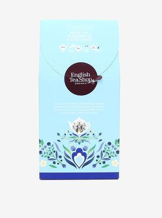 Bílý čaj, borůvky a bezinka English Tea Shop (15 pyramidek)