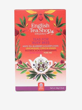 Mix čajů Pro pilné včelky English Tea Shop (20 sáčků)