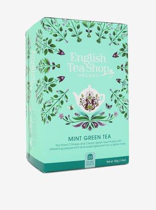 Zelený čaj s mátou Mandala English Tea Shop (20 sáčků)