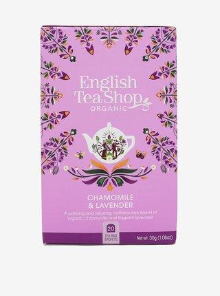 Čaj Heřmánek a levandule Mandala English Tea Shop (2O sáčků)