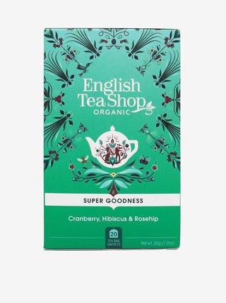 Čaj Brusinka, ibišek a šípek English Tea Shop (20 sáčků)