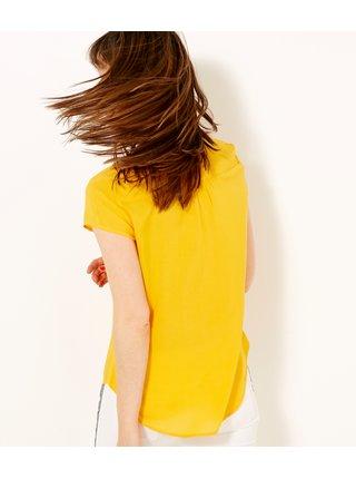 Žlutá halenka CAMAIEU