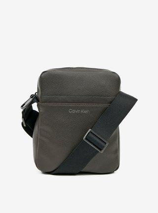 Khaki pánská crossbody taška Calvin Klein