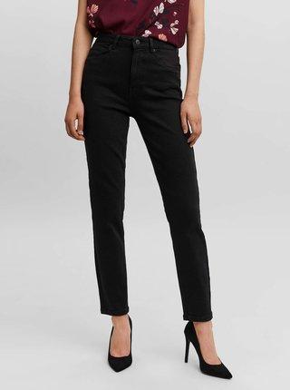 Černé mom džíny VERO MODA Joana