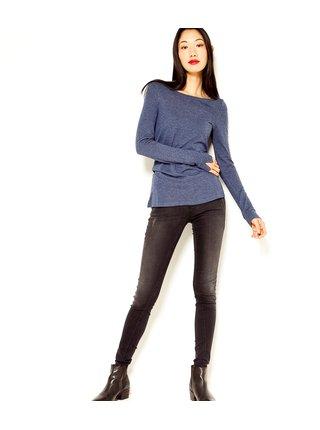 Tmavě modré tričko s příměsí vlny CAMAIEU