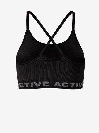 Športové podprsenky pre ženy Pieces - čierna