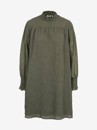 Zelené voľné šaty ICHI