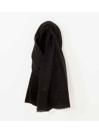 Šatky, šály pre ženy CAMAIEU - čierna