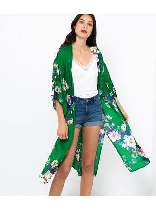 Zelená tunika s květovaným vzorem CAMAIEU
