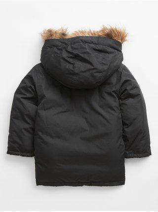 Černá klučičí bunda snorkel jacket