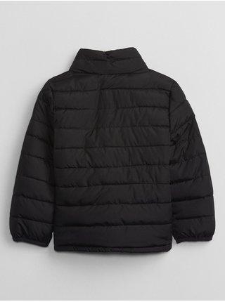 Černá klučičí bunda prošívaná