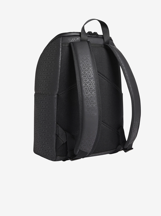Černý pánský vzorovaný batoh Calvin Klein