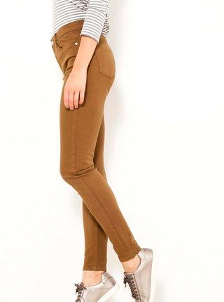 Skinny fit pre ženy CAMAIEU - hnedá