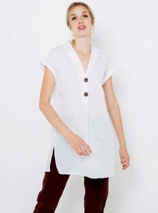 Bílá dlouhá košile CAMAIEU