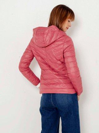 Zimné bundy pre ženy CAMAIEU - ružová