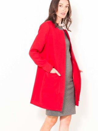 Trenčkoty a ľahké kabáty pre ženy CAMAIEU - červená