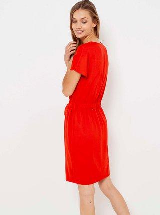 Šaty na denné nosenie pre ženy CAMAIEU - červená