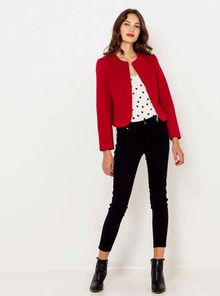 Červená bunda CAMAIEU