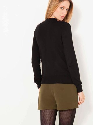 Černý svetr se stojáčkem CAMAIEU