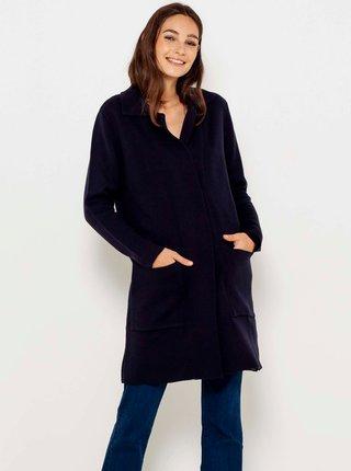 Tmavě modrý kabát CAMAIEU