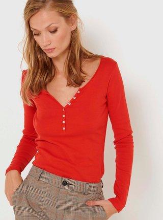 Topy a tričká pre ženy CAMAIEU - červená