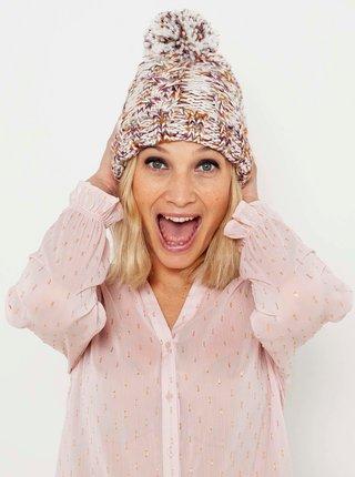Čiapky, čelenky, klobúky pre ženy CAMAIEU - krémová, hnedá