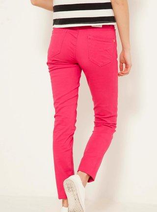 Korálové skinny fit džíny CAMAIEU