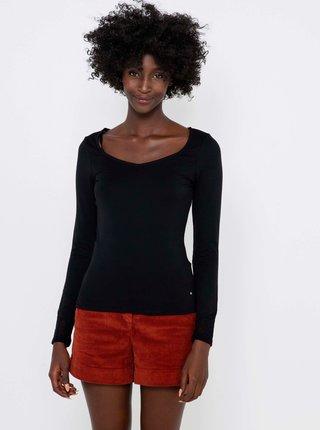 Topy a tričká pre ženy CAMAIEU - čierna