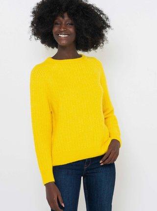 Žlutý svetr CAMAIEU