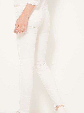 Slim fit pre ženy CAMAIEU - biela