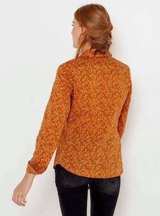 Košele pre ženy CAMAIEU - hnedá