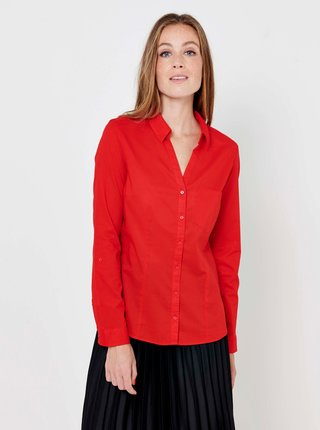 Červená košile CAMAIEU