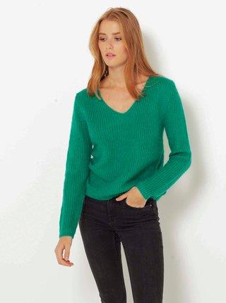 Svetre pre ženy CAMAIEU - zelená