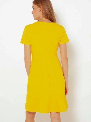 Letné a plážové šaty pre ženy CAMAIEU - žltá