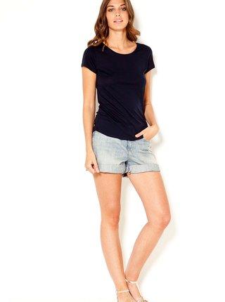 Basic tričká pre ženy CAMAIEU - čierna