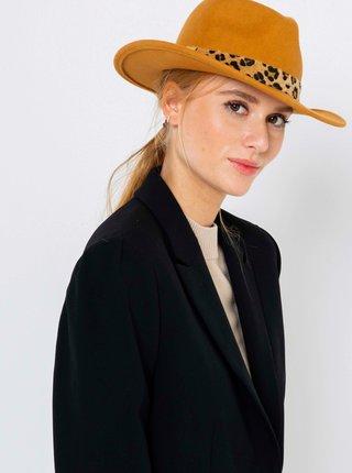 Hnědý vlněný klobouk CAMAIEU