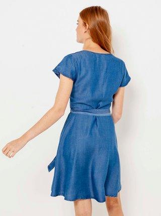Móda pre plnoštíhle pre ženy CAMAIEU - modrá