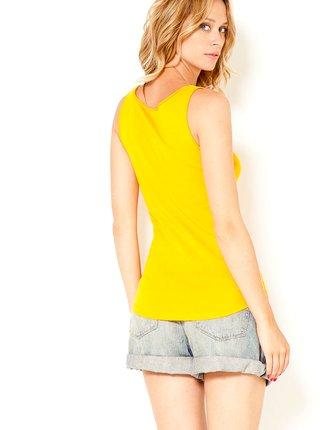 Tielka pre ženy CAMAIEU - žltá