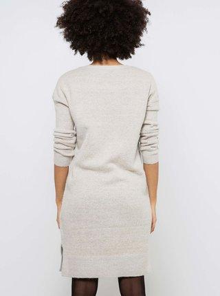 Šaty na denné nosenie pre ženy CAMAIEU - svetlosivá